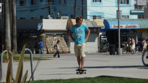 A typic Man of Venice Beach