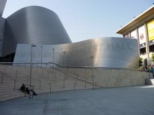L'entrée du Walt Disney Concert Hall