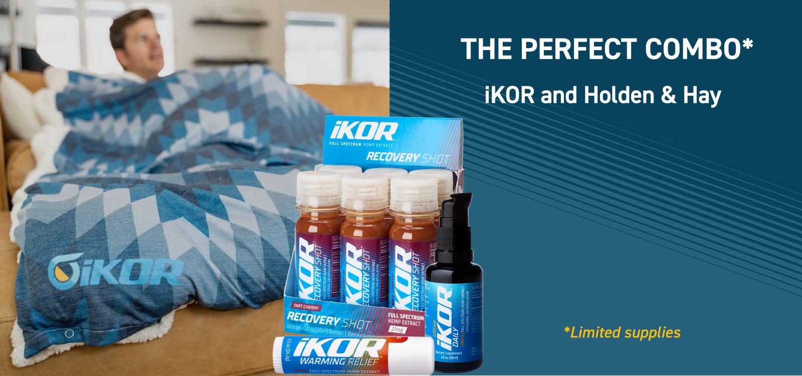 iKOR and Holden and Hay Blanket Bundle