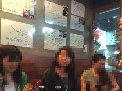 韓牛の安東カルビ韓国グルメはコレ!有名人のサインが飾られていまし