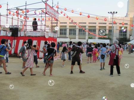 夏祭り子供盆踊り大会