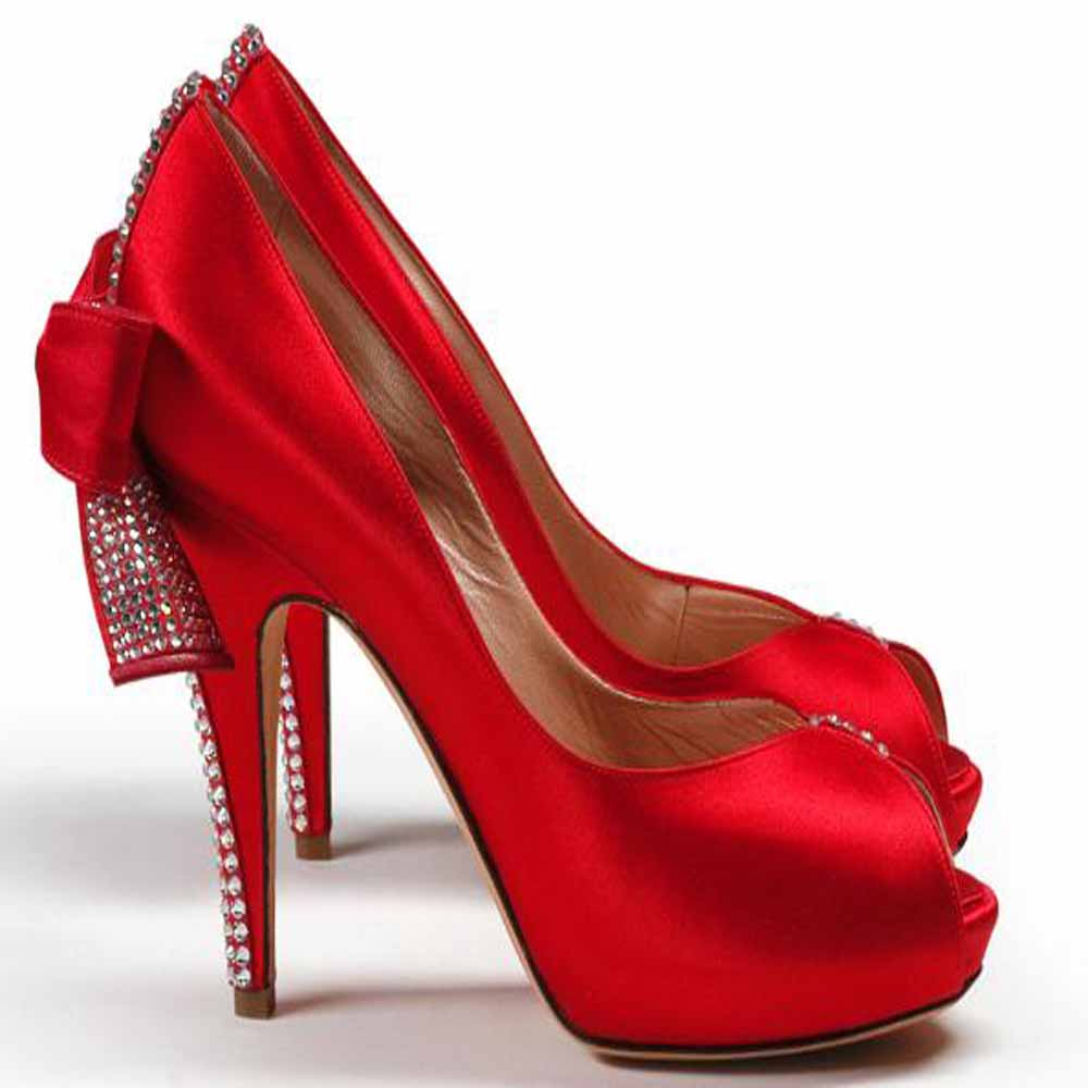 Stunning Red Wedding Shoes 2016