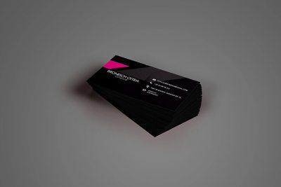 Névjegykártya tervezés - névjegykártya frontoldal