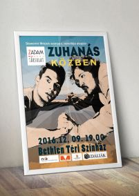 poszter-plakat-zadam-zuhanas-kozben