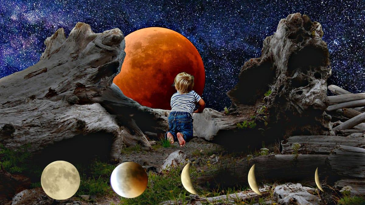 סוגים של ליקוי ירח, 2020.