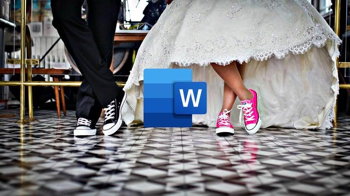 הזמנות לחתונה במיקרוסופט וורד