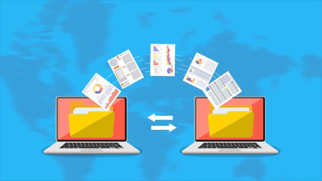 להעביר קבצים גדולים ברשת