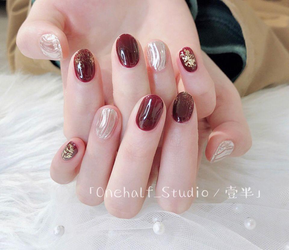 2019紅色美甲推薦!適合春天的5變化,手指還超顯白 - BEAUTY美人圈