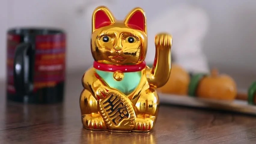 Image result for chinese fortune cat
