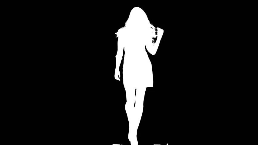 Image result for Confident Woman Silhouette
