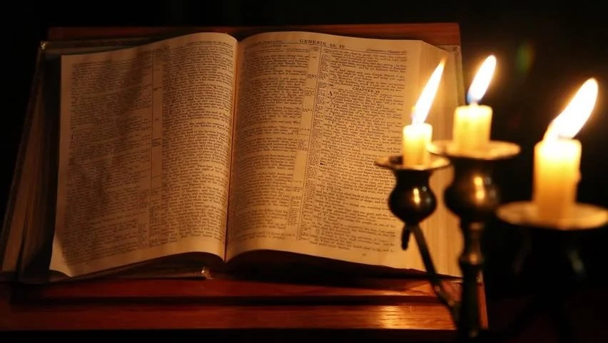 Image result for bible and candle