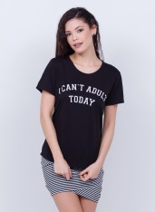 T-SHIRT CAN'T ADULT TODAY - R$ 49,90