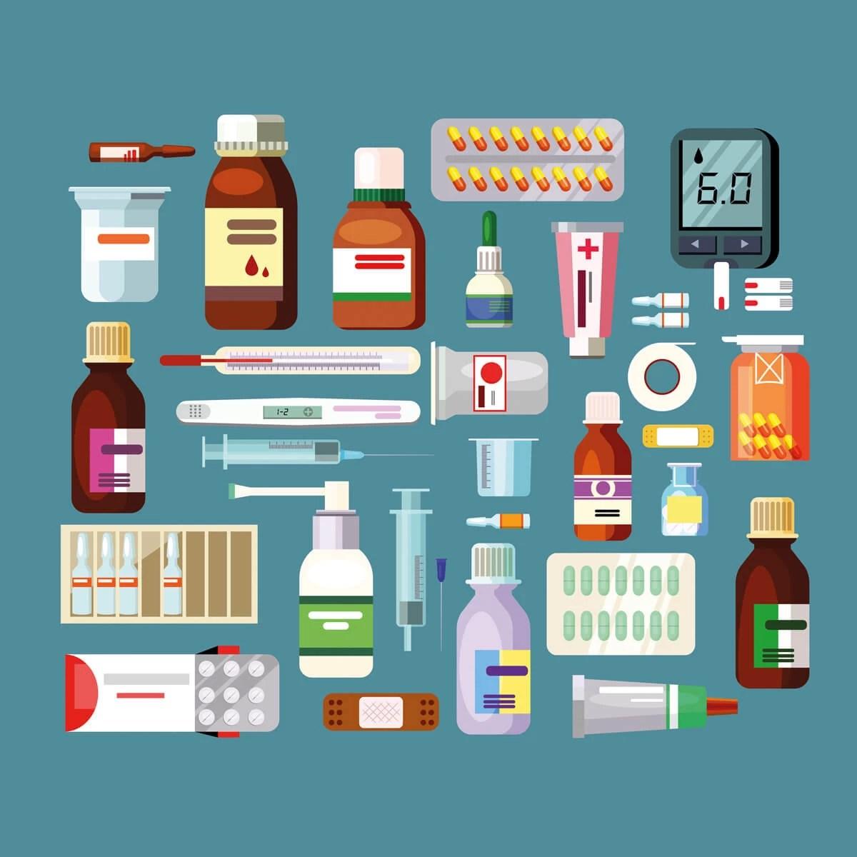 ilaç Tanıtım Rehberi ve Tibbi İnceleme Platformu Arka Plan Resmi