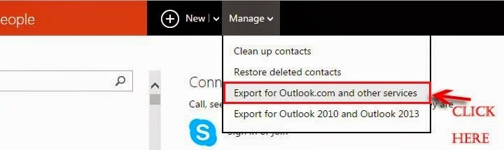 How to Import Phone Contacts from Windows Live Account to Android Phone or Gmail