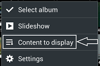 delete images in android
