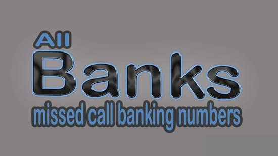 All Indian Banks Missed Call Balance Enquiry Numbers