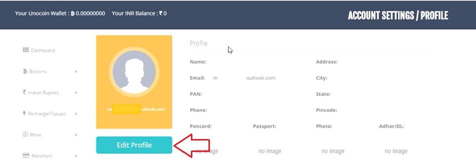 How to create unocoin bitcoin wallet account verify unocoin wallet ccuart Gallery