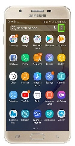 Samsung Galaxy J Series Mobiles tips and tricks - hide apps