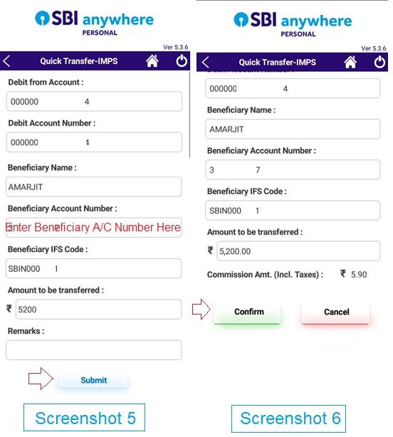sbi anywhere fund transfer