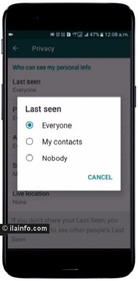 hide whatsapp last seen - whatsapp tricks