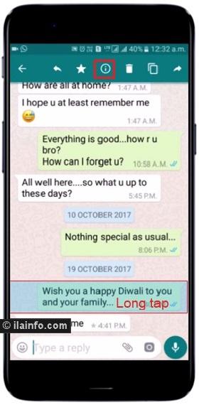 read receipts - whatsapp tricks