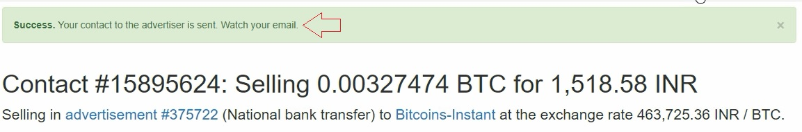 sell bitcoins on localbitcoins online