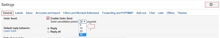 unsend email in gmail - gmail tips