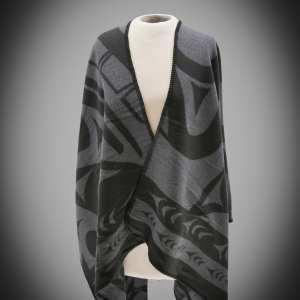 Reversible Whale Fashion Wrap