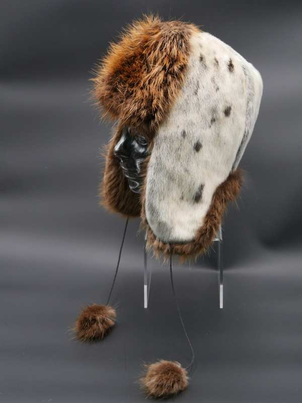 Seal and Beaver Trapper Hat