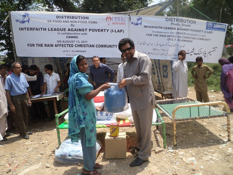 NFI Distribution Islamabad Slums 2011