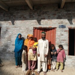 Construction of ORS and Latrine in Rahim Yar Khan Punjab 2012