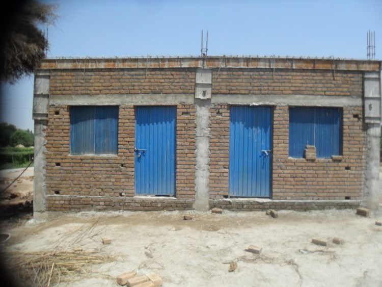 Construction of Two Rooms Shelter KPK 2012