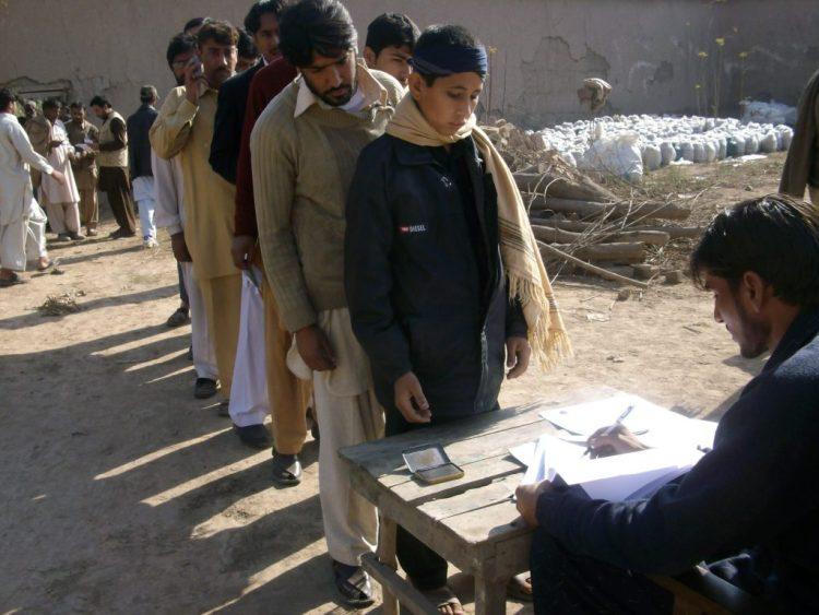 Non Food Items Distribution in Nowshera and Charsadda 2010