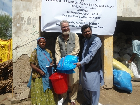 Distribution of Non Food Items in Badin Sindh 2012