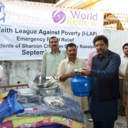 NFI Distribution in Sharoon Colony 2015