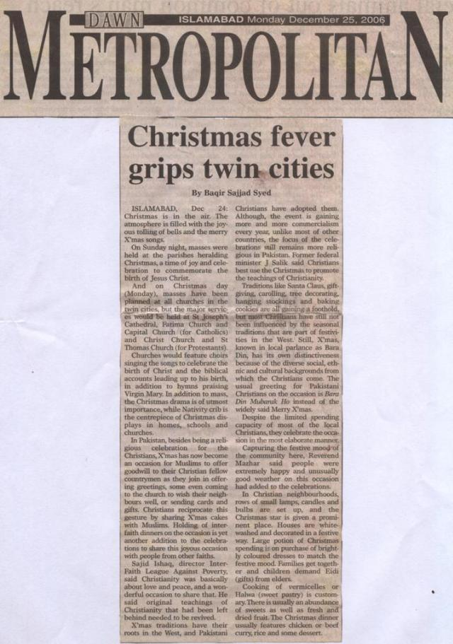 Christmas FevergripTwin Cities