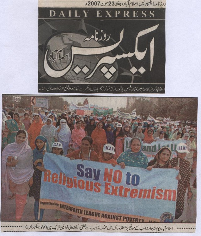 Say No to Religious Extremism