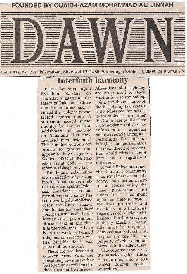 Interfaith harmony