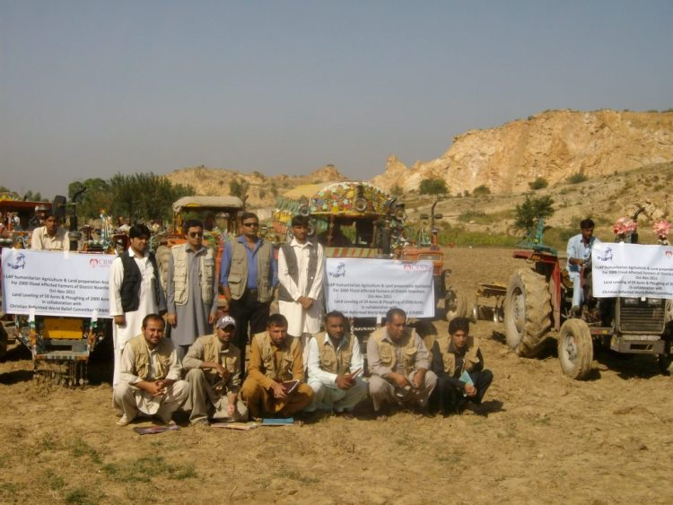 Land Ploughing and Leveling KPK 2012