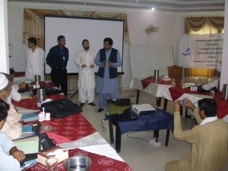 Disaster Risk Reduction Trainings in Nowshera KPK 2012