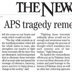 APS tragedy remembered