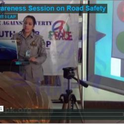 Awareness Session on Road Safety 2013