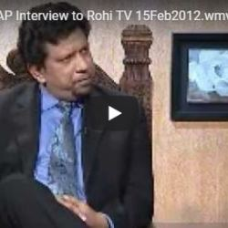 Chairman I-LAP Interview to Rohi TV