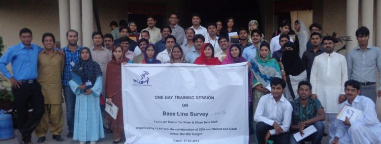 Base Line Survey Training in Rahim Yar Khan 2013