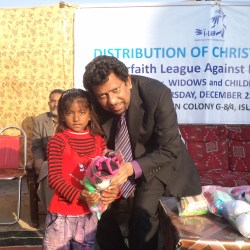 Distributions Gifts and Fod Aid among Widows and Children 2011