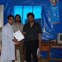 Computer Center in Balakot 2005