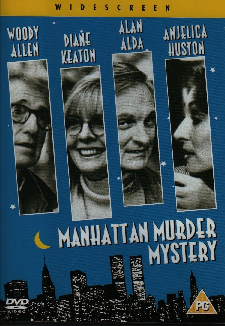 Risultati immagini per MANHATTAN MURDER MYSTERY ( 1993 ) POSTER