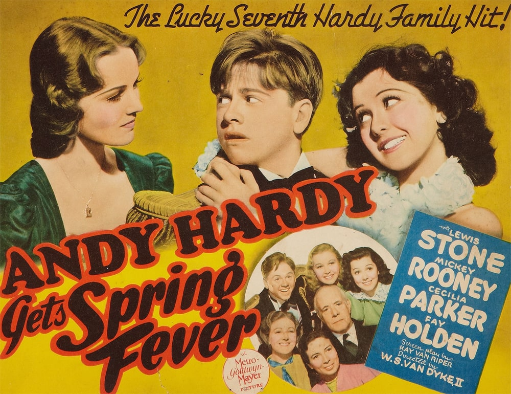 Image result for andy hardy gets spring fever 1939