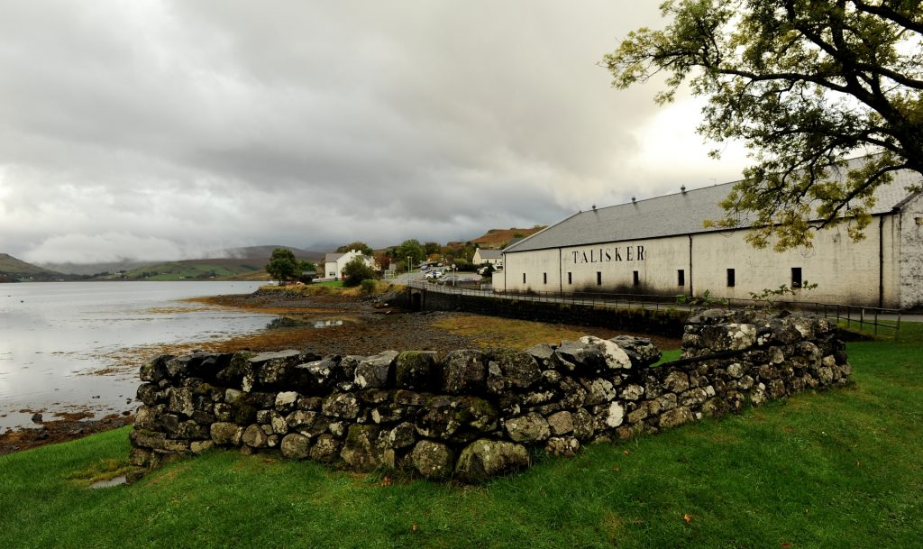 TALISKER DISTILLERY dove si produce un pregiato Single Malt