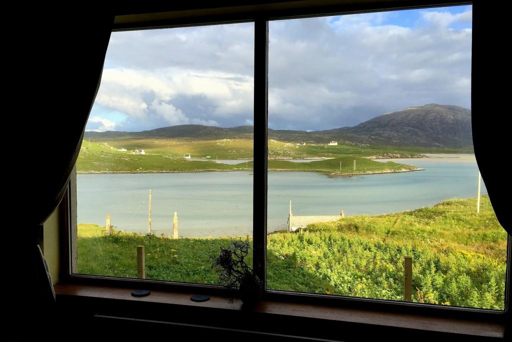 La BAIA di UIG vista dalla nostra finestra